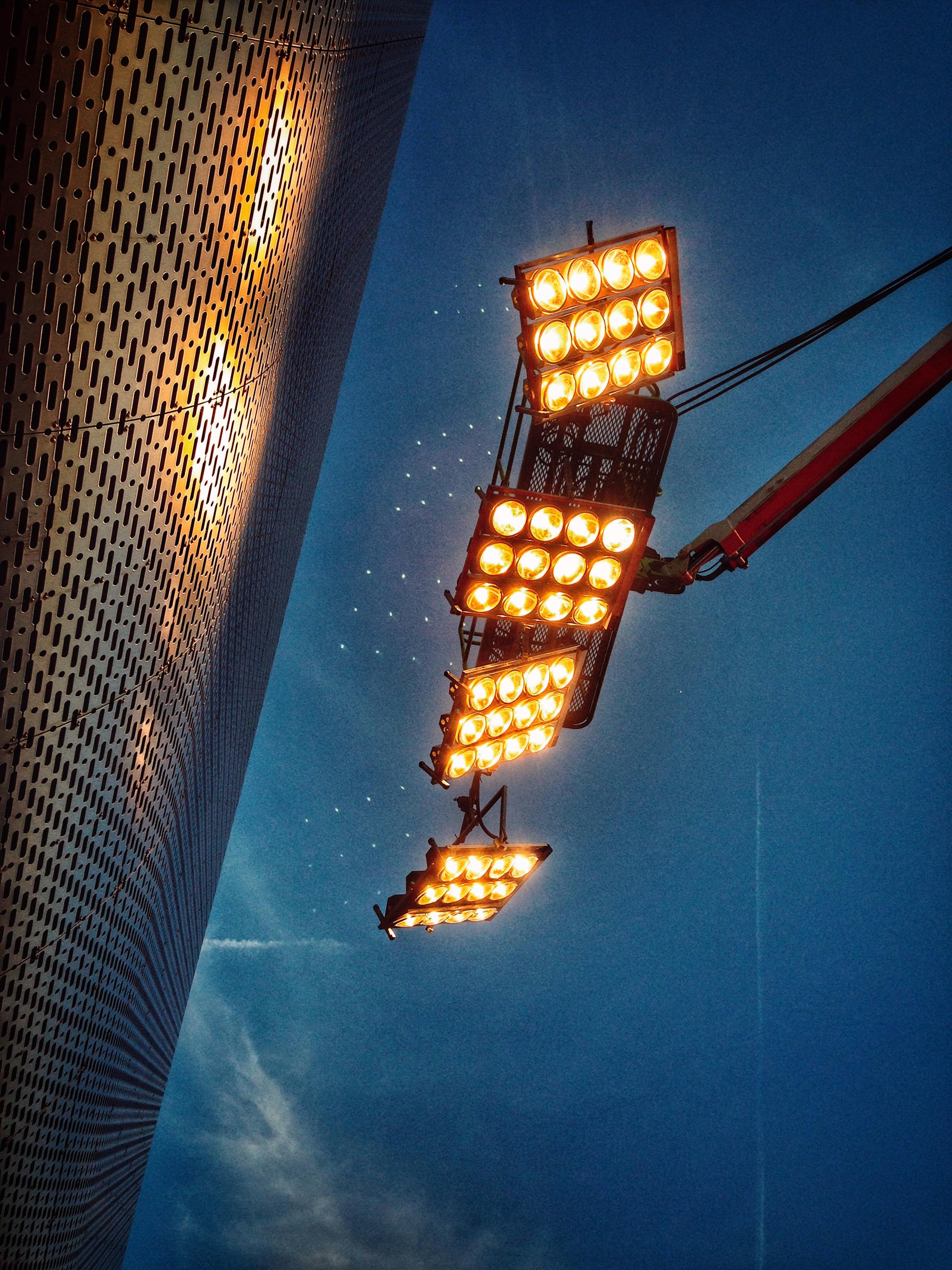 deno light 12kw . Four unit rig . & K-Light